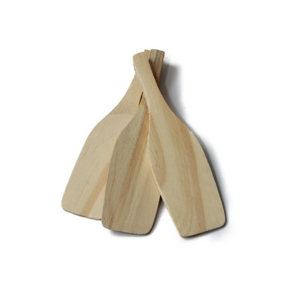 Espátula de Madeira Grande 16cm x 4cm