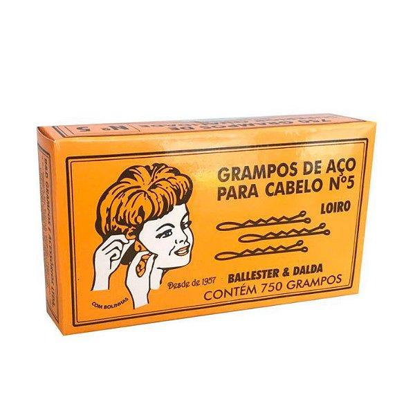 Grampo p/ Cabelo nr. 5 c/ 750
