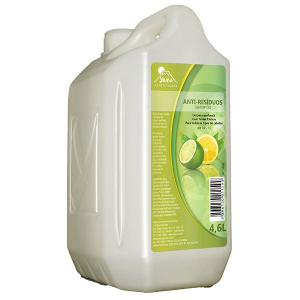 Shampoo Yama Anti-Resíduo 4,6L