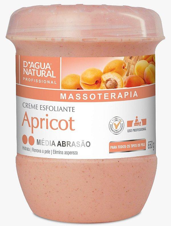 Creme Esfoliante Apricot Médio 650g D'agua Natural