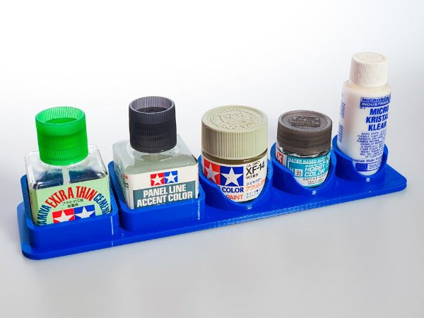 Suporte de mesa para cola, wash, tintas, microscale 5 x 1