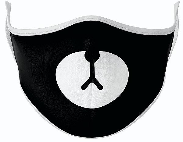 Máscara de Tecido de Dupla Camada Estampa Ursinho