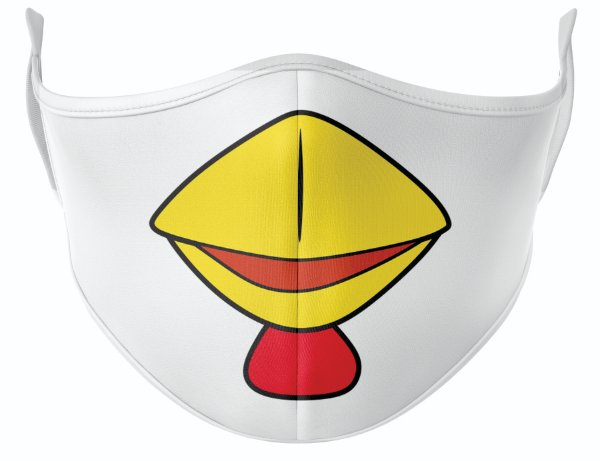 Máscara de Tecido de Dupla Camada Estampa Angry Birds