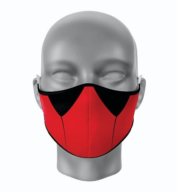 Máscara de Tecido de Dupla Camada Estampa Deadpool