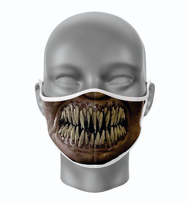 Máscara de Tecido de Dupla Camada  Mortal Kombat Baraka