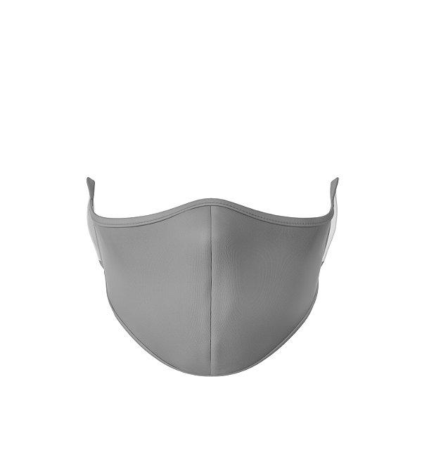 Máscara de Tecido de Dupla Camada Basic Cinza