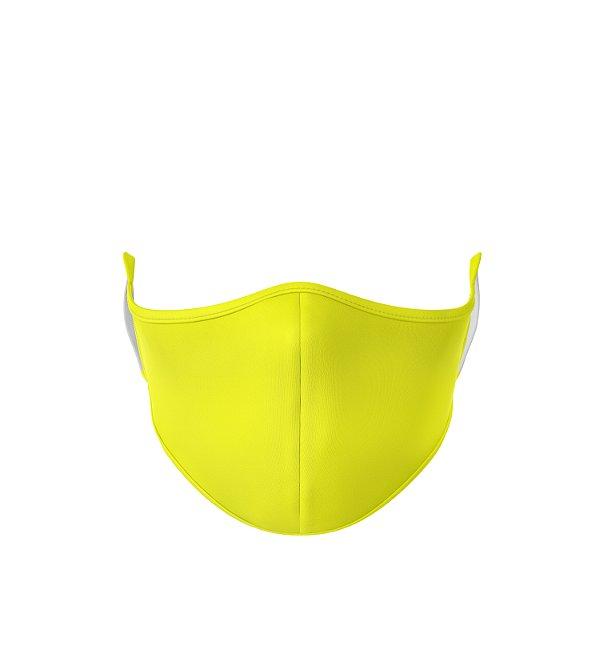 Máscara de Tecido de Dupla Camada Basic Amarela