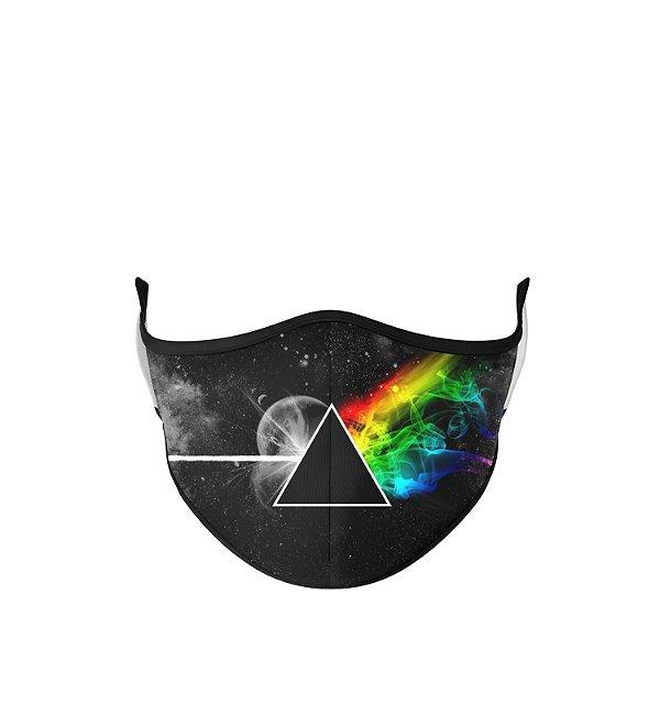 Máscara de Tecido Dupla Camada Antibacteriana  Pink Floyd
