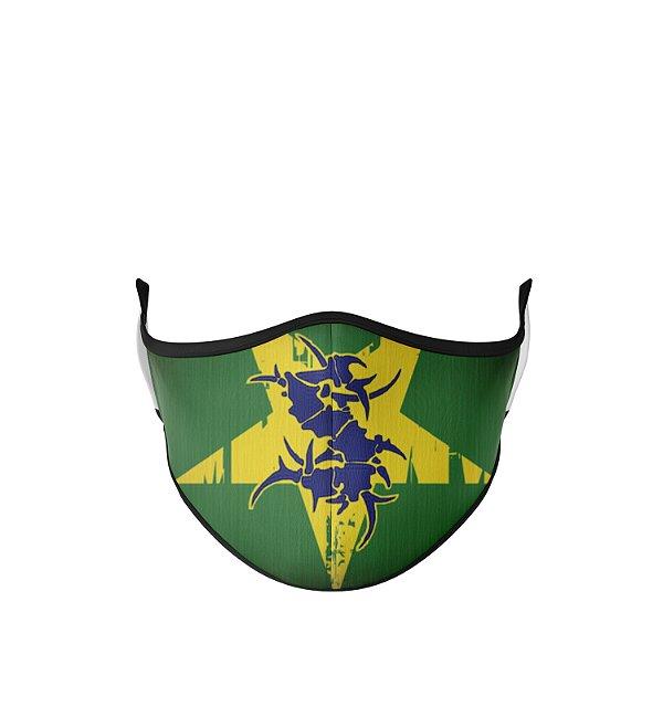 Máscara de Tecido Dupla Camada Antibacteriana Sepultura