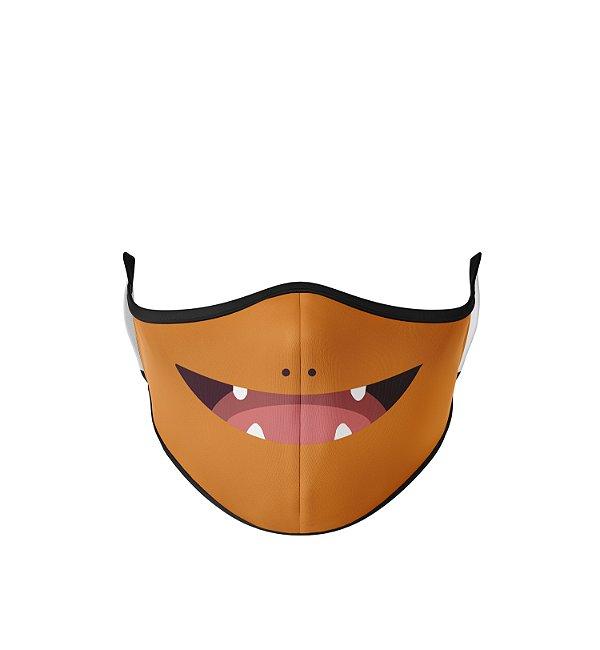 Máscara de Tecido Dupla Camada Antibacteriana Charmander