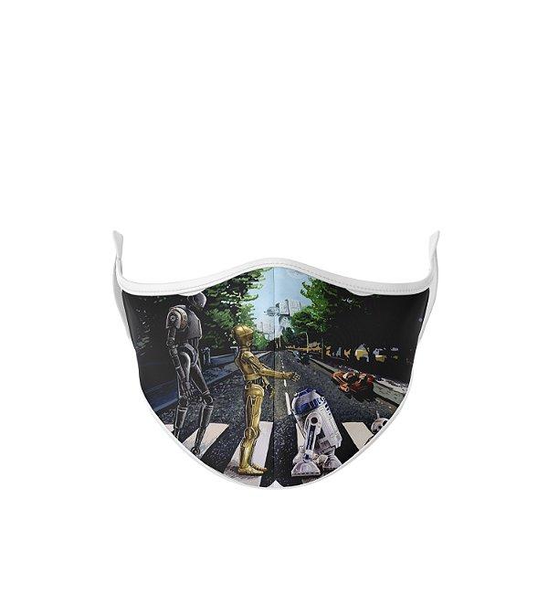 Máscara de Tecido Dupla Camada Antibacteriana The Robots Star Wars