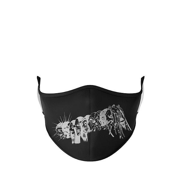 Máscara de Tecido Dupla Camada Antibacteriana Slipknot Banda