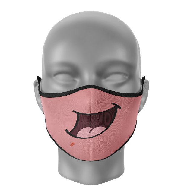 Máscara de Tecido Dupla Camada Antibacteriana Patrick