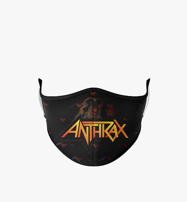 Máscara de Tecido Dupla Camada Antibacteriana Anthrax 2