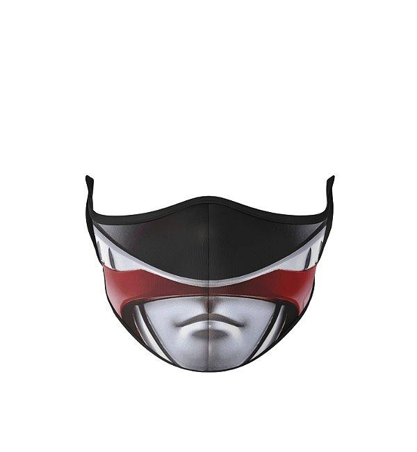 Máscara Antibacteriana Power Rangers Vermelho