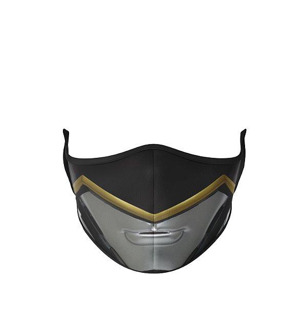 Máscara Antibacteriana Power Rangers Preto