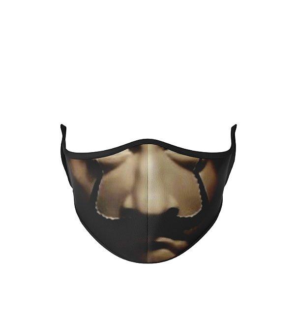Máscara Antibacteriana Estampa Boca La Casa