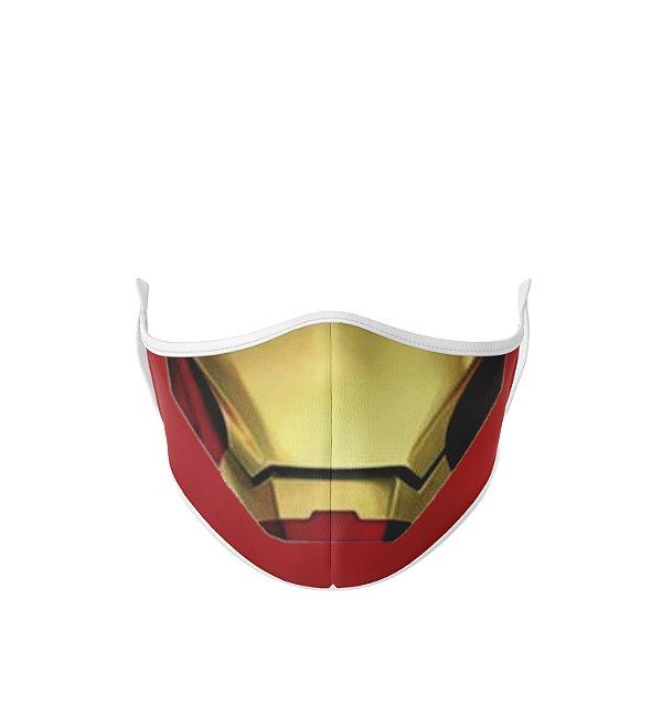Máscara Antibacteriana Estampa Homem De Ferro Boca