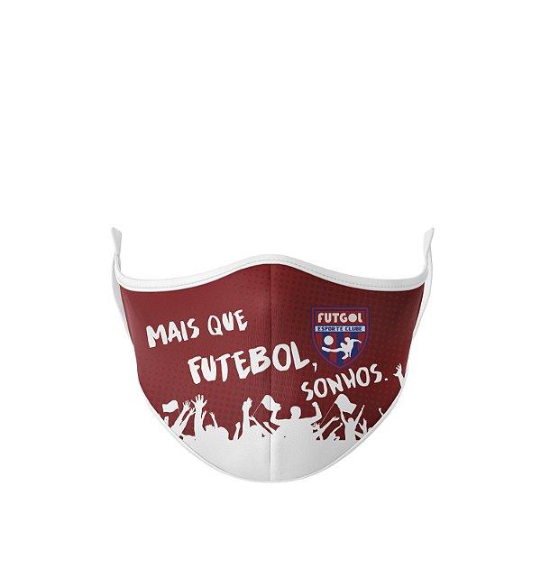 Máscara Antibacteriana Estampa Futgol Mais que Futebol 6
