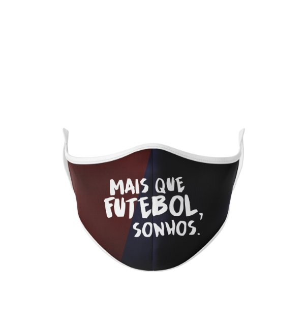 Máscara Antibacteriana Estampa Futgol Mais que Futebol 8