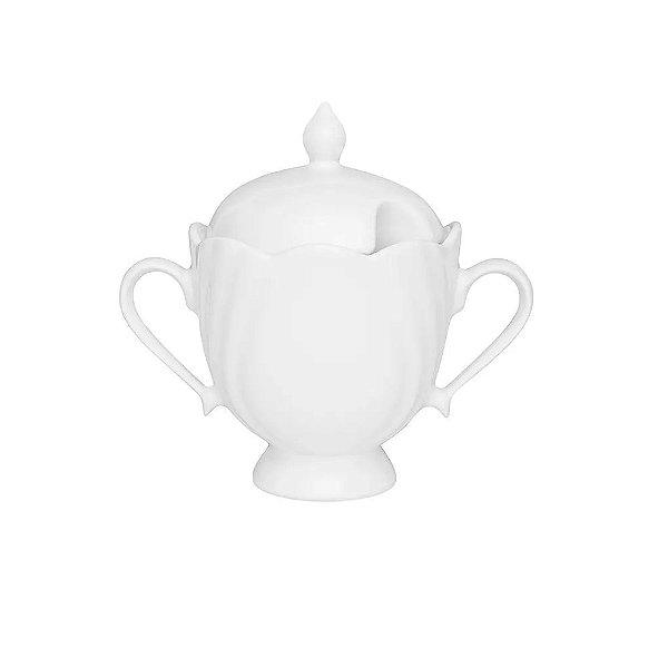 Açucareiro de Porcelana Oxford Soleil Branco 200ml