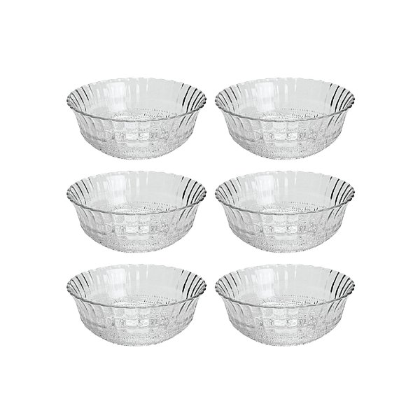 Conj Bowls Lyor Vidro 11X5 Angel