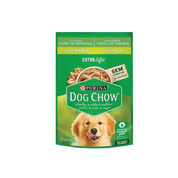 Sache Purina Dog Chow 100g Filhote Fran
