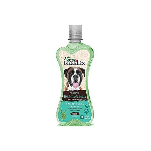 Shampoo Pet brilho Erva Santa Maria Natural 500ml