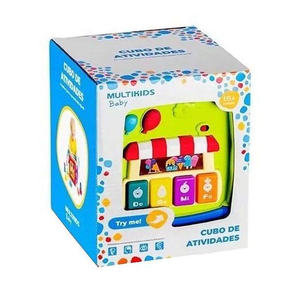 Brinquedo Multikids Cubo Atividade
