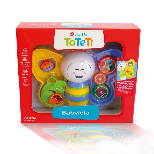 Brinquedo Ta Te Ti Babyleta