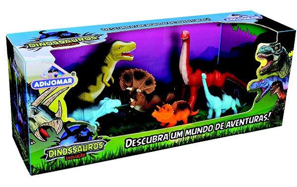 Brinquedo Adijomar Dinossauros Evolução