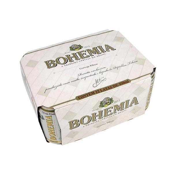 Cerveja Bohemia Puro Malte com 12 Unid.  Lata 473ml