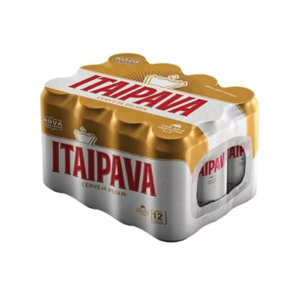 Cerveja Itaipava com 12 Unid. Lata 473ml