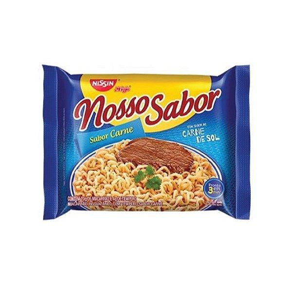 Miojo Nissin Nosso Sabor Carne de Sol 74g