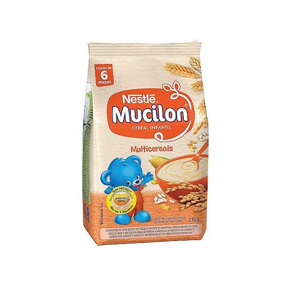 Mucilon Nestlé Multi Cereais 230g