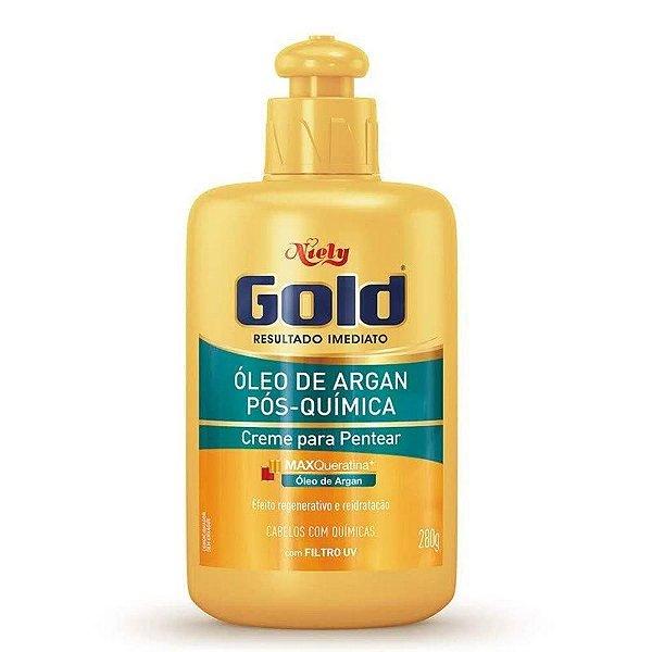 Creme de Pentear Niely Gold Pós-Química 280g