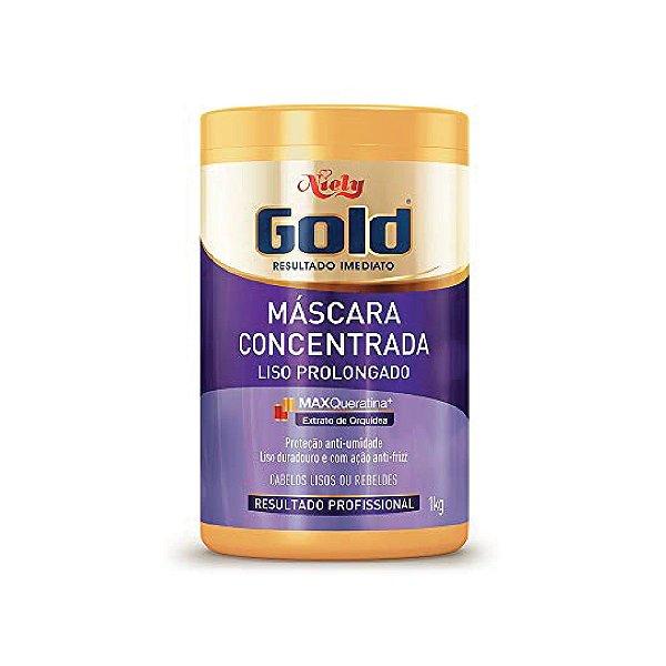 Creme para Tratamento Niely Gold Liso Prolongado 1kg