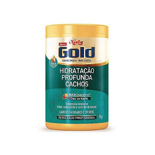 Creme para Tratamento Niely Gold Hidratação Profunda Cachos 1kg