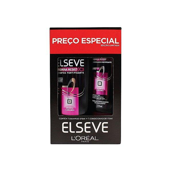 Kit Shampoo Elseve Arginina Resist 375ml e Condicionador 170ml