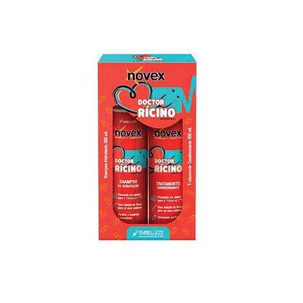 Novex Kit Shampoo e Condicionador Doctor Rícino 300ml