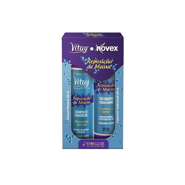 kit Shampoo e Condicionador Novex Reposição de Massa 300ml