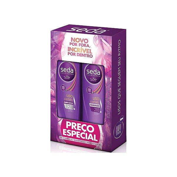 Kit Shampoo e Condicionador Seda Liso Perfeito 325ml