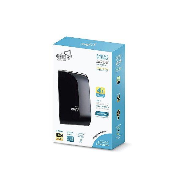 Antena Digital Interna para TV ELG Edge HDTV-5000BK 3,5m