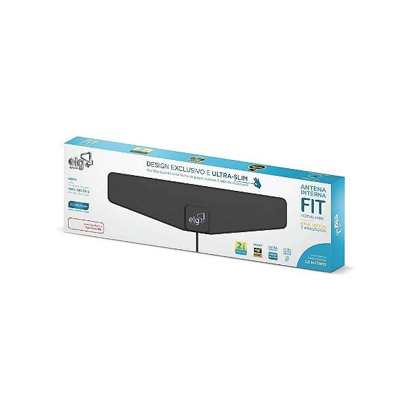 Antena Digital Interna Para TV ELG Fit HDTV-SLIM50 2,5m
