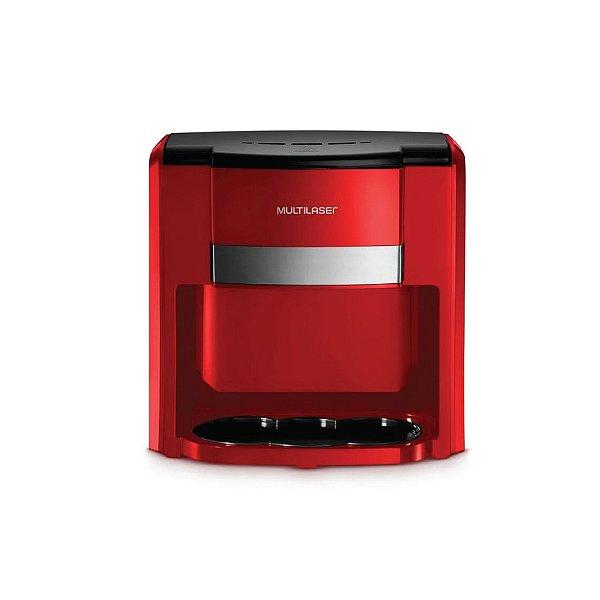 Cafeteira Multilaser Vermelho Be016 220v