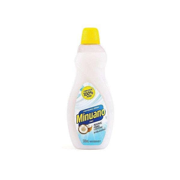 Lava Roupas Líquido Minuano Coco 500ml
