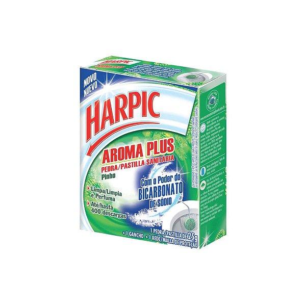 Pedra Sanitária Harpic Aroma Plus Pinho 25g