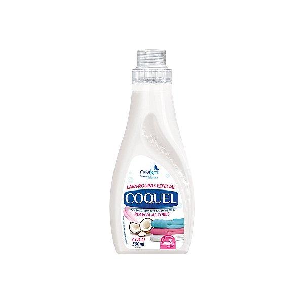 Lava Roupas Líquido Coquel Coco 500ml