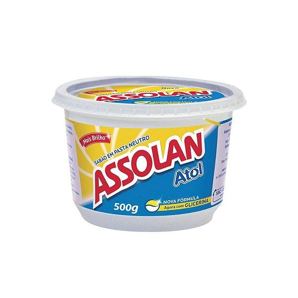 Sabão Em Pasta Assolan Atol Neutro 500g