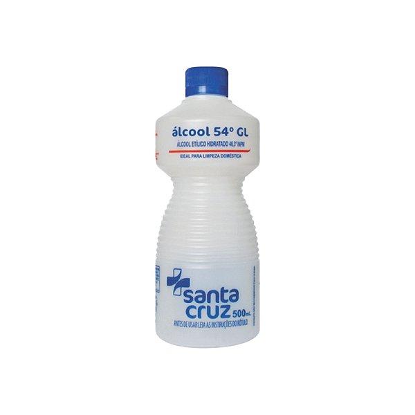 Álcool Em Gel Santa Cruz Uso Geral 500ml